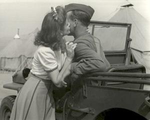 Foto d'amore dalla seconda guerra mondiale