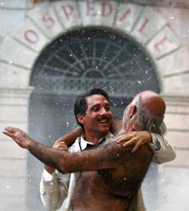 Un'immagine tratta dal film dedicato a Giuseppe Moscati