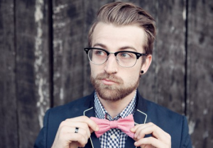 Hipster-Pink-Bow